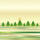 Arbres de Noël, vecteur Photographie stock libre de droits
