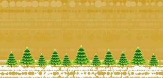 Arbres de Noël, vecteur   Photo stock