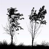 arbres deux illustration libre de droits