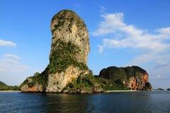 Arbres et plage, îles Kraby, Phi-phi, Thaïlande, Asie Image libre de droits