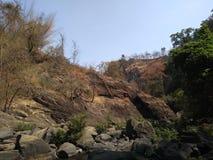 Arbres, nature, collines, ciel photographie stock