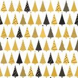 arbres sans joint de Noël de fond Photographie stock