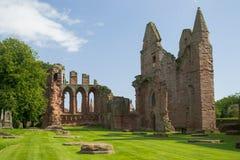 Arbroath修道院,苏格兰 库存照片