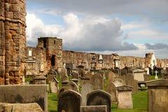 arbroath Шотландия аббатства Стоковое Фото