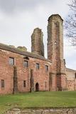 Arbroath Abbey Ruins en Escocia Imágenes de archivo libres de regalías