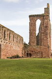Arbroath Abbey Ruins en Escocia Fotos de archivo libres de regalías