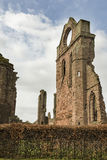 Arbroath Abbey Ruins in Scotland. Royalty Free Stock Photo