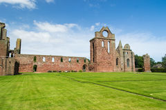 Arbroath Abbey, Scotland. Where Scotland's declaration for independence was signed in the 14th century Royalty Free Stock Images