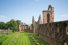 Arbroath Abbey, Scotland. Where Scotland's declaration for independence was signed in the 14th century Royalty Free Stock Photo