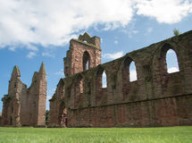 Arbroath Abbey, Scotland. Where Scotland's declaration for independence was signed in the 14th century Stock Images