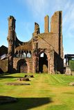 Arbroath Abbey, Scotland. Founded in 1178 by King William the Lion for a group of Tironensian Benedectin monks from Kelso  the Abbey, which was the richest of Stock Images