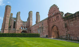 Arbroath Abbey, Skottland Royaltyfria Foton