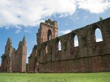 Arbroath Abbey, Skottland Arkivbilder