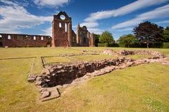 Arbroath-Abtei, Angus, Schottland Lizenzfreie Stockbilder