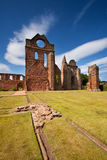 Arbroath-Abtei, Angus, Schottland Lizenzfreie Stockfotos