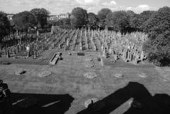 Arbroath Abtei-Friedhof Lizenzfreies Stockfoto