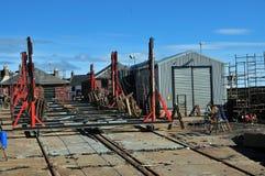Free Arbroath Boat Building Yard Stock Photography - 26637262