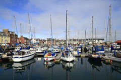 Arbroath Harbor, Scotland Royalty Free Stock Images