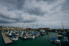 Arbroath harbour Stock Photography