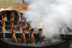 Arbroath Smokies Images stock