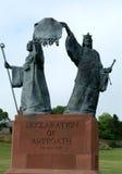 arbroathförklaring scotland royaltyfri foto