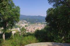 Arbucies village in Girona. Spain Stock Photography