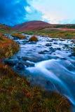 Arbusto de la colina del río foto de archivo libre de regalías