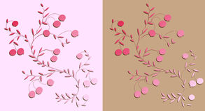 Arbustos de uma airela. Fotografia de Stock