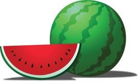 Arbuz jest tropikalnym owoc Fotografia Royalty Free