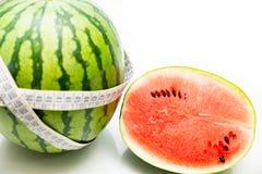 Arbuz, lato owoc, typowo soczysta i słodka zdjęcia royalty free