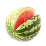 Arbuz owoc odizolowywająca Obrazy Royalty Free