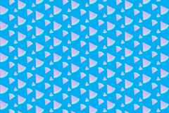 Arbuza Deseniowy bezszwowy z słodkim błękitnym tłem Zdjęcia Stock