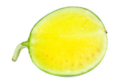 arbuza kolor żółty Obrazy Stock