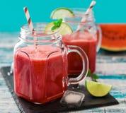 Arbuza smoothie Fotografia Stock