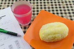 Arbuza Sok i cukierki chleb Zdjęcie Stock