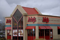 ARBY'S FAST FOOD RESATUARANT. Lewiston . Idaho state. USA  _Arby's fast food restuarant in valley todat on friday              19 December   2014.    ( Photo by Stock Image