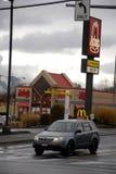 ARBY'S FAST FOOD RESATUARANT. Lewiston . Idaho state. USA  _Arby's fast food restuarant in valley todat on friday              19 December   2014.    ( Photo by Royalty Free Stock Photo