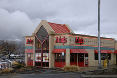 ARBY'S FAST FOOD RESATUARANT. Lewiston . Idaho state. USA  _Arby's fast food restuarant in valley todat on friday              19 December   2014.    ( Photo by Stock Photography