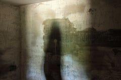 Arcón concreta abandonada Fotografía de archivo