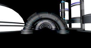 Arcón de la ciencia ficción con los arcos