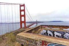 Arcón de puente Golden Gate foto de archivo libre de regalías