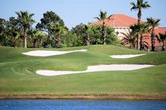 Arcón del golf Imagen de archivo libre de regalías