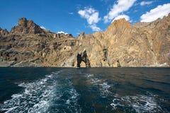 The arc. In the Black sea Stock Photo