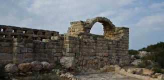 Arc. Ruins of an old Arc in Israel Photo taken on: Jan, 2014 stock photography