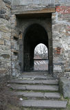 The arc in Akershus fortress Stock Photos