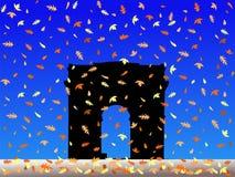 arc autumn de triomphe Στοκ Εικόνα