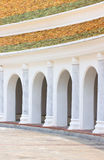 Arc Balcony Walkway. Arc Balcony Walkway At Phra Pathom Chedi, Nakorn Pathom, Thailand Stock Photography