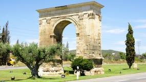 Arc of Bara. Tarragona, Spain Royalty Free Stock Image