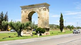Arc of Bara. Tarragona, Spain Stock Images