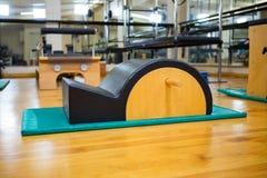 Arc barrel in fitness studio. Close -up of arc barrel in fitness studio Stock Photo